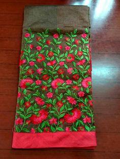 Latest Kota Sarees With Embroidery Work Elegant Fashion Wear, Trendy Fashion, Womens Fashion, Fashion Ideas, Embroidery Works, Hand Embroidery, Kota Sarees, Elegant Saree, Black Suits