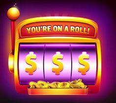 Slot machine on Behance