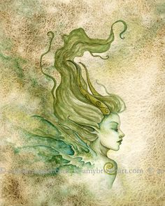 Fairy Art Artist Amy Brown: The Official Online Gallery. Fantasy Art, Faery Art, Dragons, and Magical Things Await. Amy Brown Fairies, Elves And Fairies, Woodland Creatures, Magical Creatures, Watercolor Artwork, Fairy Art, Illustrations, Artist Art, Faeries