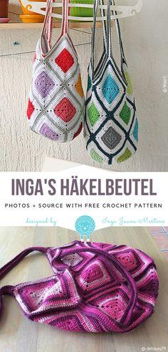 Inga s Häkelbeutel Free Crochet Pattern c7098d8a49fc9