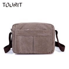 1f0bffff3fdc 2016 Canvas Travel Bag For High Quality Men Messenger Bags Casual Shoulder  Bag Vintage Crossbody Men S School Book Bag Bolsa-in Travel Bags from  Luggage ...