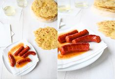 Talo con chistorra Chorizo, Hot Dogs, Cooking, Ethnic Recipes, Food, Sausages, Finger Foods, Traditional Kitchen, Thermomix
