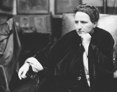 But the problem is that when I go around and speak on campuses, I still don't get young men standing up and saying, 'How can I combine career and family?'   Gertrude Stein