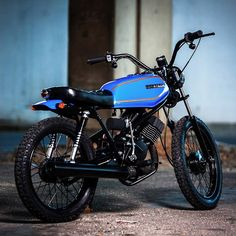 - Digging this 1981 Honda MB100 build from South...