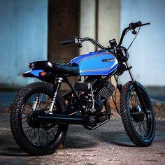 - Digging this 1981 Honda MB100 build from South...