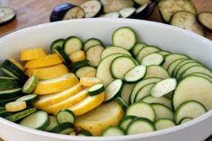 Recipe:  Baked Summer Squash