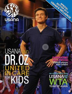 """I always talk to my friends and family about USANA. Together, we're on a mission to make the world a happier, healthier place.""  —Dr. Mehmet Oz - See more at: https://tionalee.usana.com/#sthash.d4aPO910.dpuf"