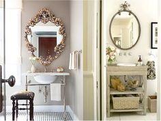 decoracion vintage para baños