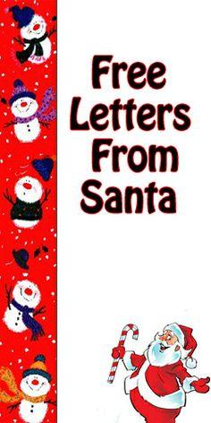 free letters from santa free letters from santa santa letter xmas ideas holiday