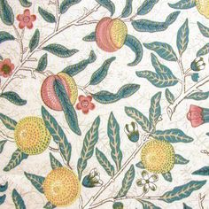 William Morris Fruits wallpaper