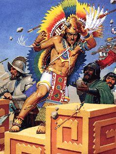 weird-chill: Muerte de Moctezuma