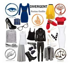 """Divergent Faction Outfits"" by ellie-is-in ❤ liked on Polyvore featuring Mode, DailyLook, rag & bone, American Eagle Outfitters, Les Cinq, Hervé Léger, Sonoma life + style, Wallis, Steve Madden und John Lewis"