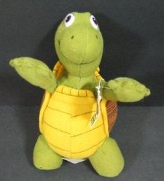 """VERNE The Turtle Over The Hedge Dreamworks Plush 8"""" Stuffed Animal Toy B236"""