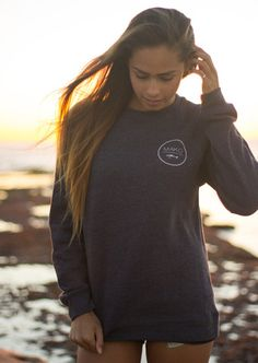 THE Crew Neck Sweatshirt – MAKO. www.makomfg.com