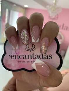 beautiful french nail designs ideas that trending now 16 ~ Modern House Des. - beautiful french nail designs ideas that trending now 16 ~ Modern House Design - Glam Nails, Nail Manicure, Beauty Nails, My Nails, Bling Nail Art, Cute Acrylic Nails, Cute Nails, Pretty Nails, Stylish Nails