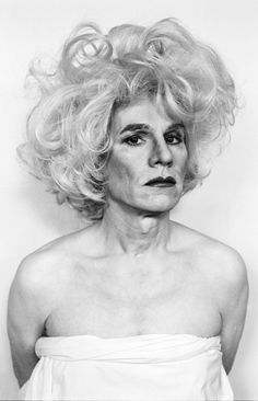 Lady Warhol by Christopher Makos