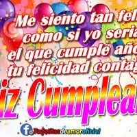 Que el día de hoy, sea el día mas feliz de toda tu vida - FELIZ CUMPLEAÑOS T.Q.M ~ Tarjetitas Religion, Neon Signs, Happy Bday Wishes, Romantic Cards, Love Cards, Christian Birthday Greetings, Birthday Msgs