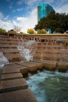 Water Gardens (again), Fort Worth