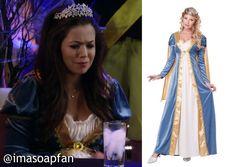 I'm a Soap Fan: Sabrina Santiago's Renaissance Princess Costume - General Hospital #Halloween #Costume http://imasoapfan.blogspot.com/2015/11/sabrina-santiagos-renaissance-princess-halloween-costume-gh.html