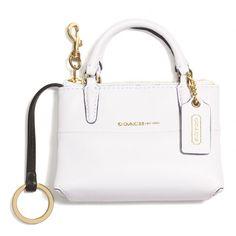 Coach Keychain It S Literally A Mini Bag
