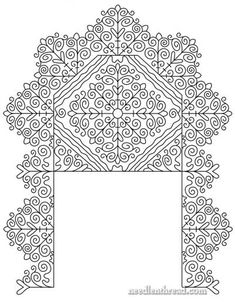 Hungarian Redwork Embroidery Project - Site also has lots of other free embroidery patterns Blackwork Patterns, Blackwork Embroidery, Hungarian Embroidery, Learn Embroidery, Embroidery Patterns Free, Ribbon Embroidery, Cross Stitch Embroidery, Embroidery Designs, Floral Embroidery