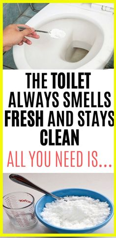 The Toilet Always Smells Fresh And Stays Clean. All You Need Is…