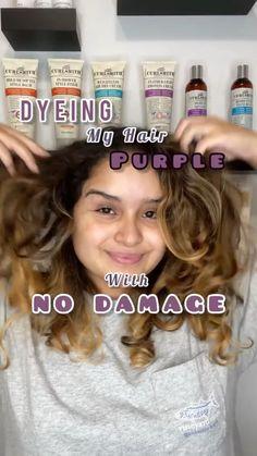 Bright Hair Colors, Hair Color Purple, Hairdos For Short Hair, Up Hairstyles, Hair Up Styles, Healthy Hair Tips, Lavender Hair, Dye My Hair, Hair Looks