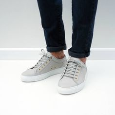 Low Top Light Grey