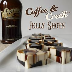 Coffee and Creek Jelly Shot Recipe OMG - these look terrific!