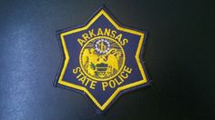 Arkansas State Police Patch (Current Issue) - States Display