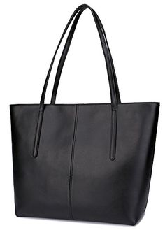 1148976e0f Ilishop Women s Brand New Fashion Handbag High-end Genuine Leather Shoulder  Bags NB121-black  Handbags  Amazon.com