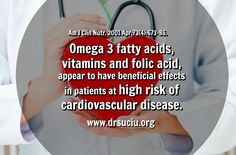 Picture Omega vitamins and cardiovascular disease - drsuciu Folic Acid, Cardiovascular Disease, Omega 3, Vitamins, Heart Disease