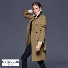 Trench rouge court cache cache vestes manteaux pinterest manteau et vestes - Comment porter un trench femme ...