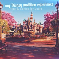 My Disney Audition Experience {Tips}