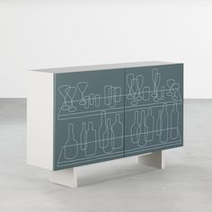'Inside Out' cabinet in blue by Freshwest for Joined + Jointed