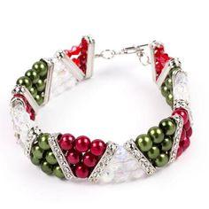Molly #Christmas | Free Jewelry Patterns | Prima Bead #DIY #jewelry