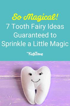 7 Tooth Fairy Ideas Guaranteed to Sprinkle a Little Magic First Tooth, Tooth Fairy, Parenting Advice, Sprinkles, Teeth, Activities For Kids, Magic, Children, Ideas