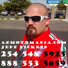 We strive to provide our customers with the best customer service possible. We have a selection of quality pre-owned motorcycles that will nearly fit any budget or lifestyle.    AZMotomania.com  8716 West Thunderbird Rd.  Peoria, AZ 85381  888.553.5659