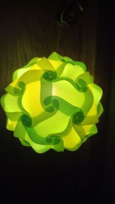 plastic lighting. Infinity Lamp Made Out Of Plastic File Folders Lighting