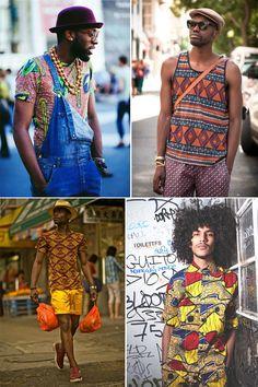 """Ok, o """"étnico"""" está """"na moda"""" e faz tempo. Porém, (...)"""