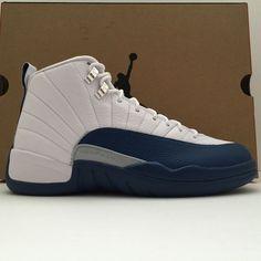 c1da6028cb40df DS Nike Air Jordan 12 XII French Blue Size 8 Size 12 Jordans Sneakers