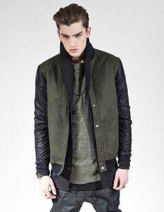 Kollar Clothing Minte - Black Klinto - Olive