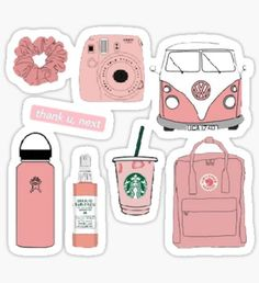 Starbucks stickers featuring millions of original designs created by independent artists. Cool Stickers, Printable Stickers, Journal Stickers, Planner Stickers, Images Esthétiques, Tumbler Stickers, Homemade Stickers, Snapchat Stickers, Aesthetic Stickers