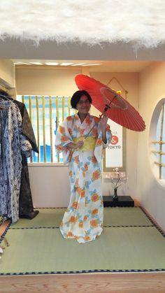 Kimono jepang dalah satu baju kesukaan saya