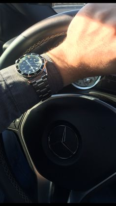 My Rolex Submariner and my Mercedes