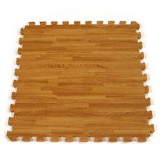 Interlocking Floor Tiles Foam Mat showing one tile.