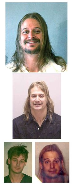 Robert James Ritchie (aka Kid Rock) was arrested in October 2007 by Georgia police and charged with misdemeanor simple battery after he and his entourage allegedly beat up another customer at a Waffle House following a post-concert meal. He posed for the second mug shot after being arrested by Nashville cops in February 2005 and charged with misdemeanor assault for getting into a fight with a Tennessee strip club DJ. Kid also posed for a police camera, as seen in the two older photos at the…