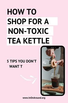Know how to find the best non-toxic tea kettle for the ultimate tea party! Many teapots on the market use harmful ingredients that can leach into your tea or hot water - yikes! Check out the best tea kettle for your afternoon tea. Whether you're brewing green tea or black tea, don't use harmful cookware. Save this for tea party ideas! #teakettle #teapot #teaparty Safest Cookware, Cookware Set, How Do You Find, Best Tea, Tea Infuser, Medical Advice, Teapots, Afternoon Tea, Kettle