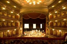 Teatro da Paz (Peace Theatre) at Belém, Pará