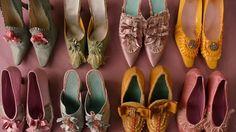 """Marie Antoinette Shoes designed by Manolo Blahnik for Sofia Coppola's 2006 film """"Marie Antoinette"""""""